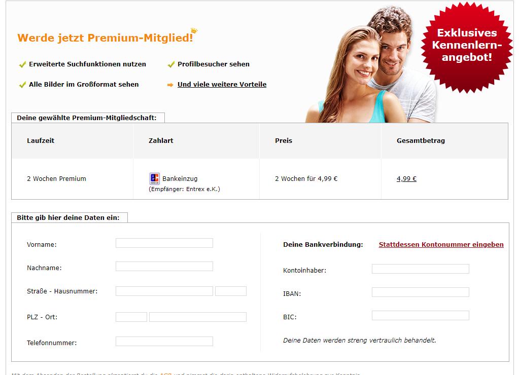 Bildkontakte Preise