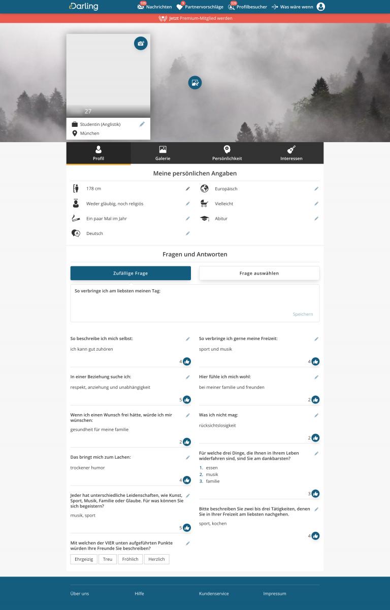eDarling Test: Kosten und Bewertung - onlinedating.de