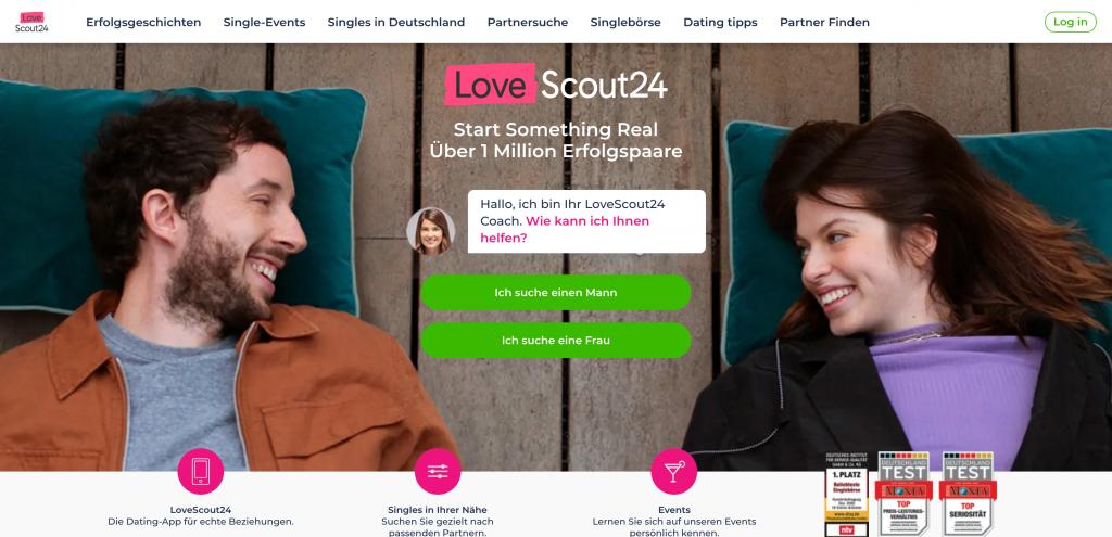 Friendscout Homepage