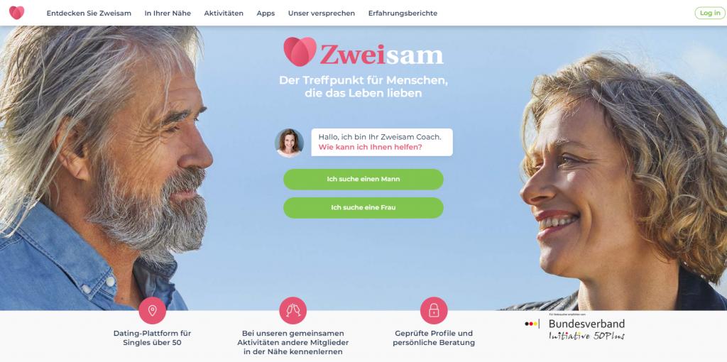 Zweisam Homepage